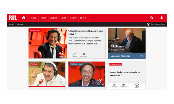 Home RTL pour Culture RP