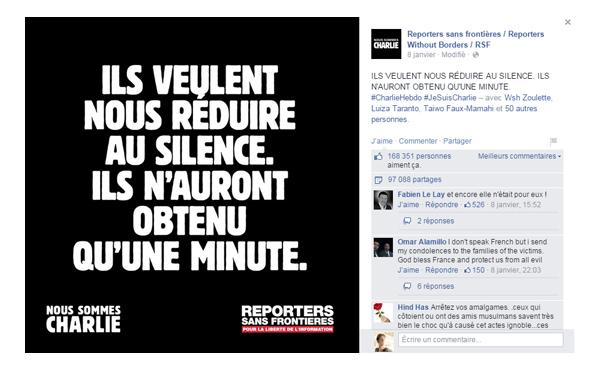 FanPage RSF #JeSuisCharlie