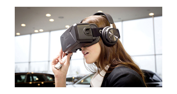 Audi Virtual Reality experience