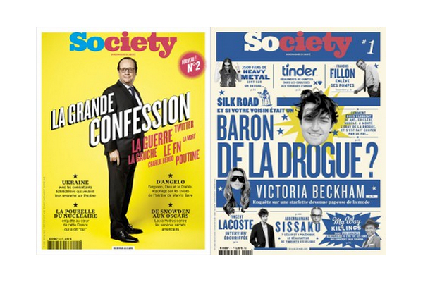 Couverture Magazine Society