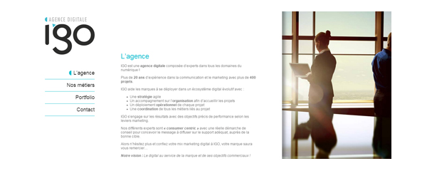 Home Agence digitale Igo