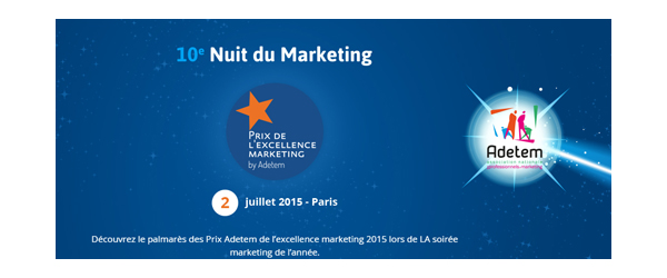 Home 10e édition de la Nuit du Marketing
