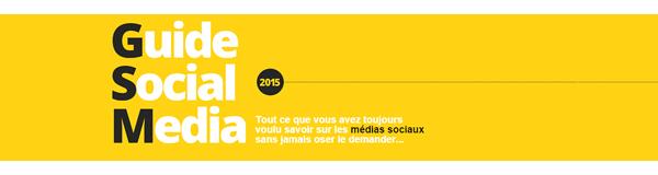 Guide Social Media 2015 par l'Agence Wellcom