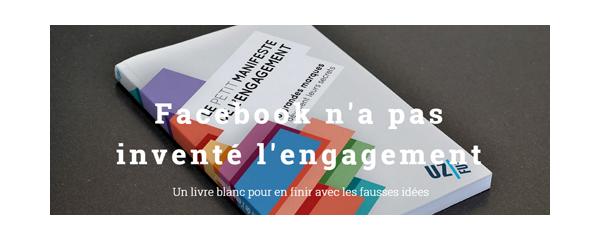 le livre blanc _Petit_ manifeste de l'engagement par l'Agence Uzful