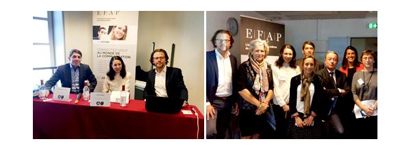 EFAP Bordeaux Relations publics et des réseaux sociaux de l'Argus de la presse