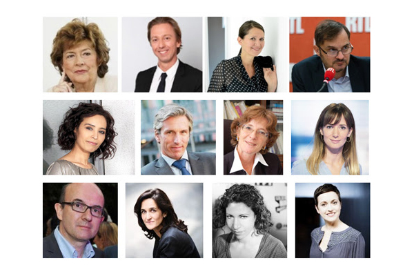 Jury Reporters d'espoir 2015