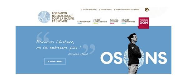 Site Fondation Hulot