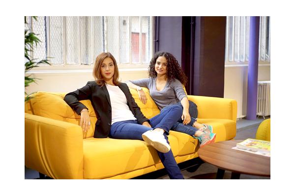 Hannah Oiknine et Sarah Azan, co-fondatrices de Babbler (