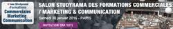 11ème édition du salon Studyrama des Formations Commerciales, Marketing & Communication