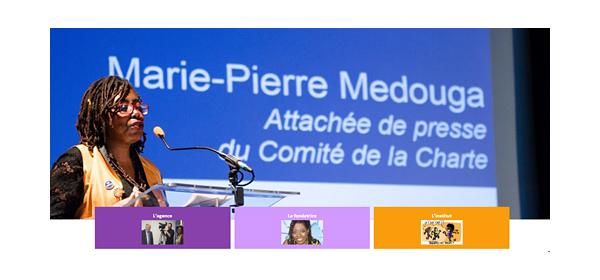 Marie-Pierre Medouga pour Culture RP