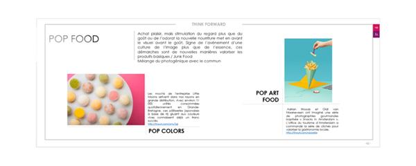 book des tendances Pop Food
