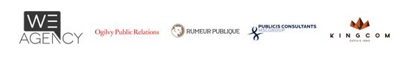 We Agency  - Ogilvy PR - Rumeur Publique - Publicis Consultant - KingCom