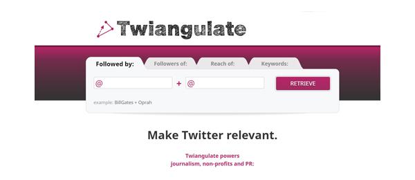 Twiangulate