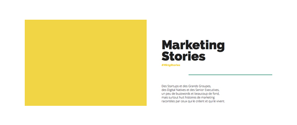 Marketing-Stories par le CMIT IT