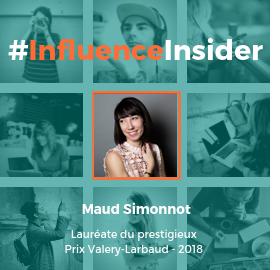 Influence Insider Portrait de Maud Simmonot